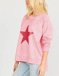 Buy Watermelon Crush Star Dust Crew Spage Age Sweater  Shop Pink Stardust Crew Jumper Watermelon Crush Pink Star Dust Crew Stockist Buy Stardust Crew Jumper online online stockist