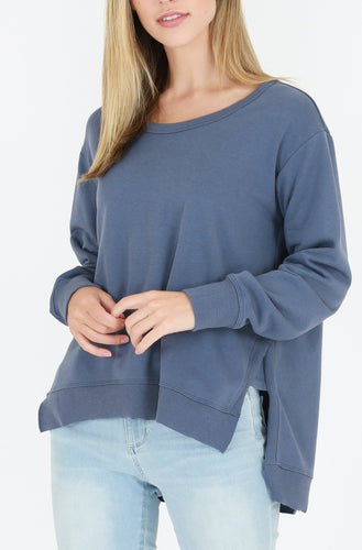 3rd Story Stockist - Basic State 3rd Story Ulverstone Jumper Ulverstone Sweater - Bluestone