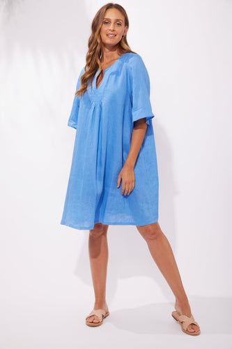 Haven Clothing Australian Stockist Haven Stockist Melbourne Basic State Haven Clothing Stockist online Shop Haven Clothing Majorca Dress Marine Blue