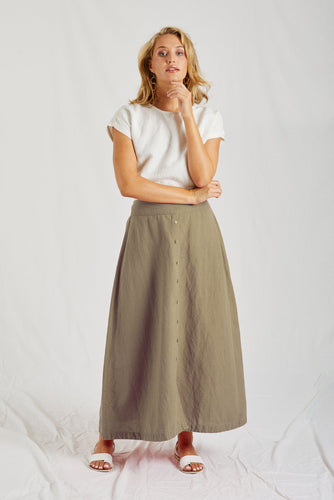 Buy Lulu Organics Essentials Linen SKirt Buy Lulu LINEN SKIRT ONLIEN PORTOFINO LINEN SKIRT