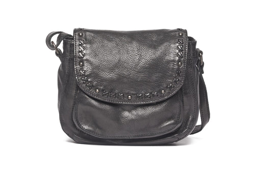 Rugged Hide - 'Ellie' Leather Shoulder Bag