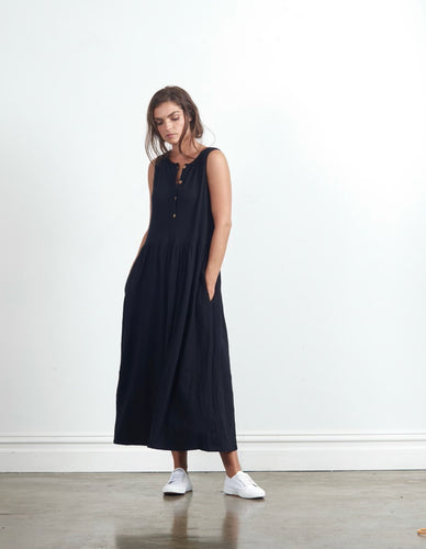 BUY CLE ORGANIC ESSENTIALS AUSTRALIAN STOCKIST BASIC STATE BUY MARA MAXI DRESS CLE BUY CLE ORGANIC BASICS MARA MAXI DRESS BLACK - BUY CLE CLOTHING ONLINE SHOP CLE ORGANIC CLOTHING AUSTRALIA