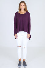 Basic State 3rd Story Willow Tee in Violet - Long Sleeve Willow Tee