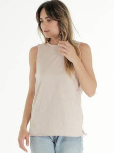 Cle Organic Cotton Clothing Blush Pink Ella Tank Organic clothing Basic State Australia Cle Stockist PLUS SIZE CLE ORGANIC CLOTHING PLUS SIZE CLE CLOTHING PLUS SIZE ELLA TANK CLE CLOTHING AUSTRALIAN STOCKIST CLE ORGANIC CLOTHING AUSTRALIAN STOCKIST