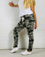 Camo Slouch Pant Combat Drop Crotch Pants Basic State