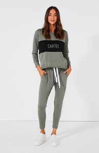 Cartel & Willow Block Long Sleeve Top Basic State
