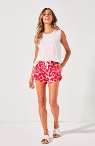 Cartel & Willow Shorts Leopard Print Shorts Animal Print Shorts Basic State