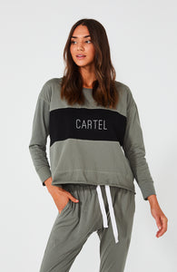 Cartel Block Top Sage Green Cartel & Willow Cartel Top Basic State