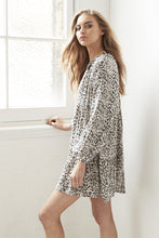 Cartel and Willow Leopard Print Dress Cali Shirt Dress @ Basic State