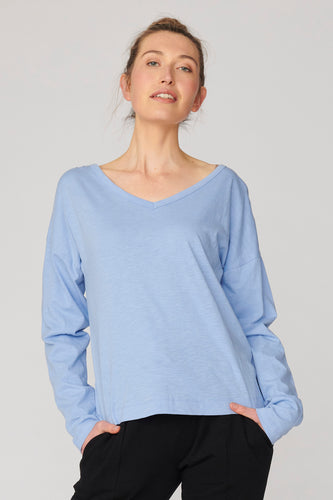 Lulu Organic Clothing Chicago Long Sleeve Tee Basic State Lulu Organic Clothing Stockist