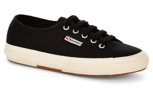 Superga 2750-Black Superga Classic Tennis Shoe Canvas Sneakers Black Superga2750 Cotu Classic Basic State Style Traders Black Tennis Shoe Runners jogger trainers