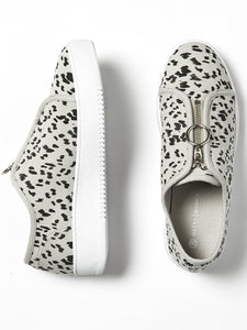 Cruise Zip Sneakers Betty Basics Leopard Print Zip up Sneakers Basic State