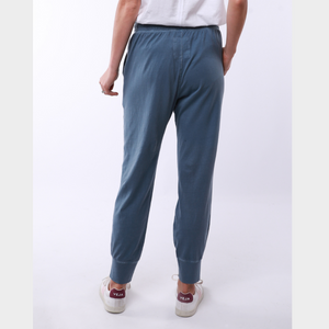 Elm Steel Blue Wash Out Lounge Pants Basic State Australia
