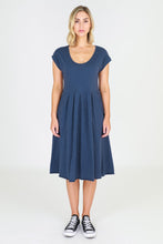 Plus Size || 3rd Story The Label Evelyn Tunic Dress - Indigo