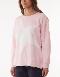 Elm Australian Stockist Elm Star Jumper Elm Clothing Super Fleece Star Sweater Basic State