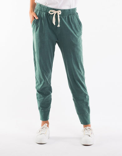 Elm Fundamentals Wash Out Lounge Pants Sage Green - Basic State Elm Stockist