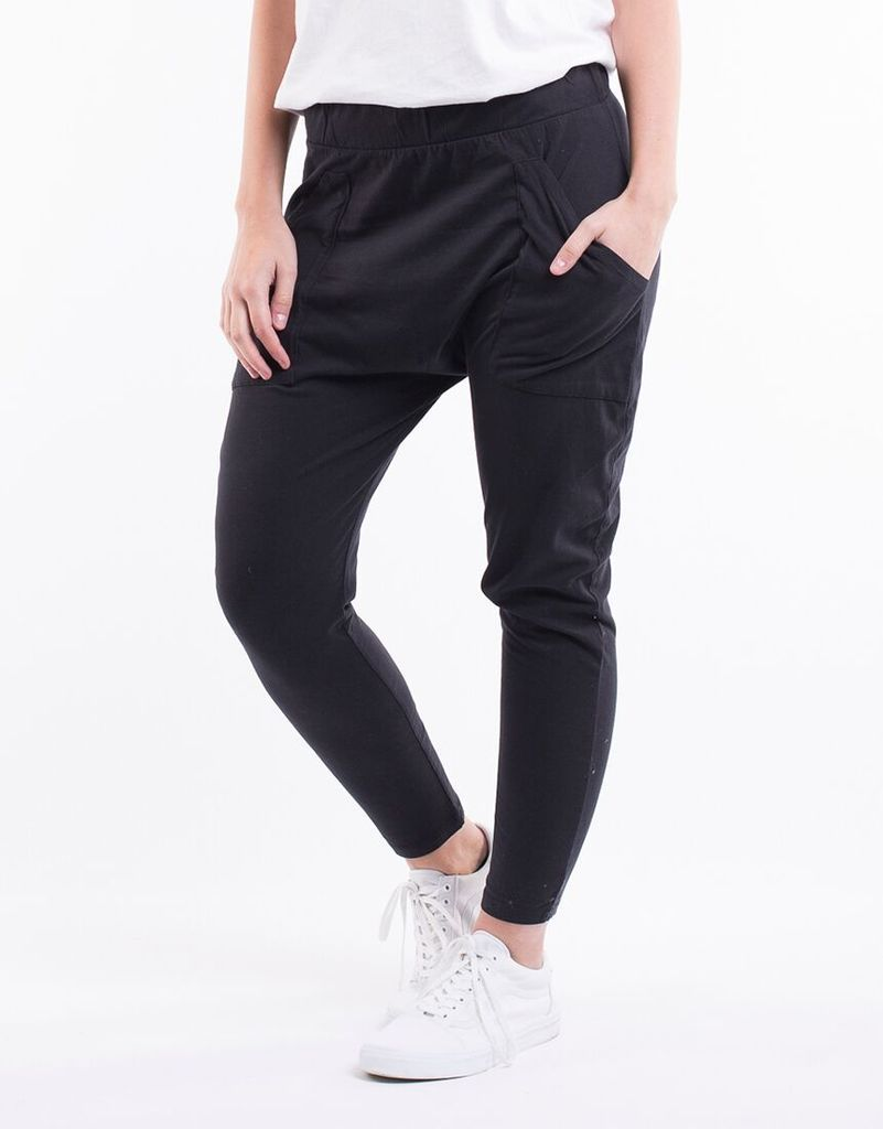 Plus Size || Elm Fundamental Weekender Lounge Pant - Black