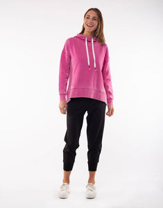 Foxwood Shine Hoodie Pink - Foxwood and Elm Stockist Basic State