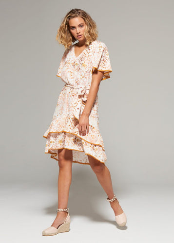 Gysette Anvi Print Mini Dress - Basic State
