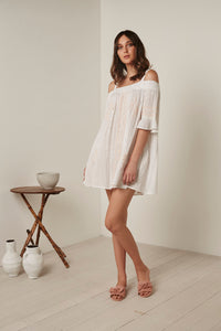 Gysette Shree Dress - White