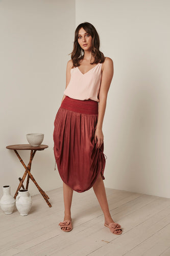 Shanti Skirt by Gysette Wine - Basic State