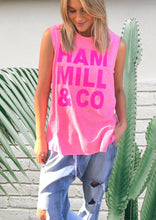 Hammill and Co Pink Logo Tank Hammill and Co Melbourne Stockist Hammill and Co Sydney Stockist Hammill and co Brisbane Stockist Hammill and Co Perth Stockist Hammill and Co Brisbane Stockist Hammill and co online Stockist Hammill and co Pink Logo Tank Basic State HAmmill and Co Stockist