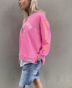 Hammill and co Stockist, Hammill and Co Australian Stockist, Hammill and co Sydney Stockist, Hammill and co Perth Stockist, Hammill and Co Brisbane Stockist, Hammill and co Melbourne Stockist, Hammill and co Eagle Sweater Hammill and co Pink Eagle Jumper Hammill and Co Pink More Love Jumper Pink Sweater Pink More Love Jumper