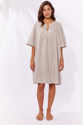 Haven Clothing Majorca Dress Sand Basic State Haven Stockist Australia