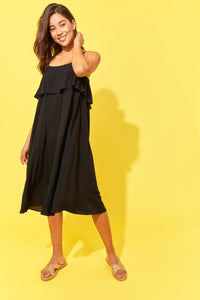 HAVEN CLOTHING STOCKIST HAVEN AUSTRALIAN STOCKIST PARADISE DRESS BASIC STATE HAVEN PARADISE DRESS BLACK