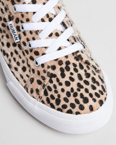 HUMAN SHOES - SHOP SUPERGA ONLINE AT BASIC STATE - LEOPARD PRINT SNEAKERS - Ocean Sneakers || Cheetah Print - Pony Hair Faux Leather - BASIC STATEBASIC STATE