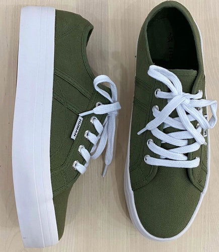 Lift Canvas Sneakers Khaki Basic State