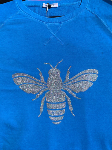 Glitter Bee Jumper My Izzi Bee Jumper Who Fish Sweater Save the Bees Jumper Queen Bee Jumper Basic State