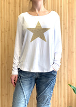 Shona Star Top || White