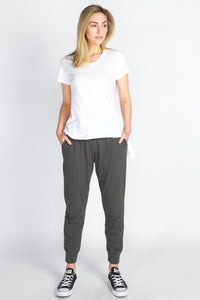 brooklyn lounge pants charcoal 3rd story brooklyn pants - charcoal