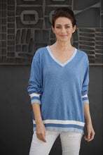 Italian Star College Knit, Italian Star Jumper, Italian Star College Jumper, Blue Italian Star Jumper Basic State Italian Star Stockist