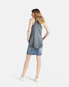 Jac & Mooki Gemma Tank Racer Back Tank Longer Length Tank Gym tank Basic State