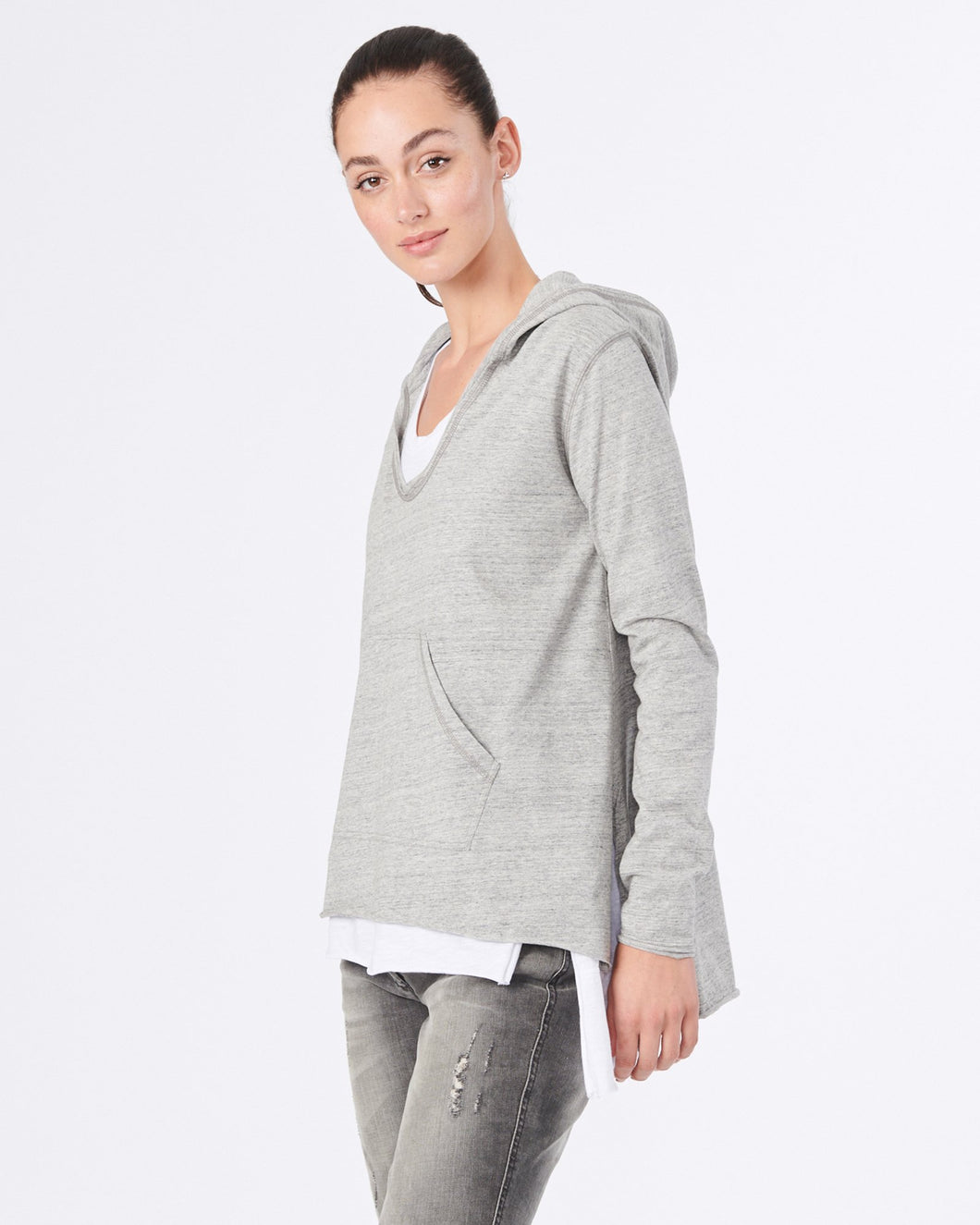 Jac and Mooki Hoodie Jumper Sweater long fit, Jac & Mooki Harvey Hoodie Basic State