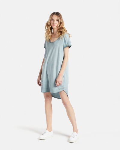 Jac & Mooki Naomi Tshirt Dress - Colour Fade Dress - Basic State