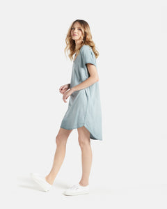 Jac & Mooki Naomi Tshirt Dress - 100% Cotton Dress - Basic State
