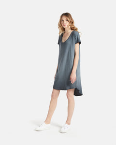 Jac & Mooki Tshirt Dress Basic State - Loose Fit Dress - Casual Dress - Cotton Basics