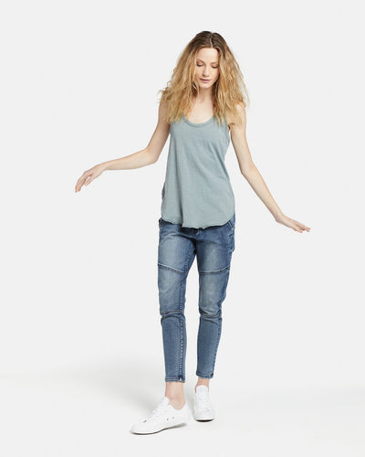 TAYLOR TANK JAC AND MOOKI SAGE GREEN TANK - BASIC STATE