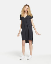 Jac & Mooki Tshirt Dress Helena Dress Basic State Black shirt Dress