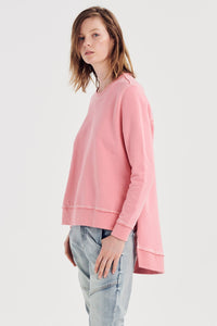 JACK AND MOOKI Priscilla Sweat Flamingo Orange Jumper Basic State
