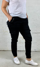 Joey Joggers Basic State Plus size Clothing Black Denim Pants Basic State
