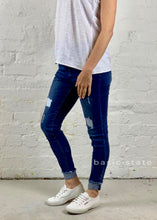 Katie Jeans Distressed Denim Stretchy Jeans Ripped Jeans Basic State Australia