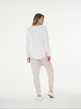 Cle Long Sleeve Tshirt in White Cle Organic Cotton Layla Long Sleeve Tee Cle Organic Label Stockist Cle Pure Cotton Organic Cotton Stockist Basic State Australia Cle Clothing Cle Organic Clothing Australia Cle Organic Layla Long Sleeve Tee - Basic State Cle Clothing Australian Stockist
