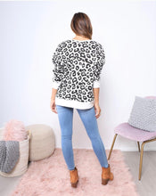 Leopard Lounge Lounge Sweater Black and white Leopard Jumper Leopard Jumper Alicia Jumper Basic State