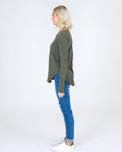 3rd Story, loose fit, relaxed fit, Khaki, Green, 3rd Story the Label. Long Length Tshirt Basic State