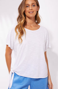 Majorca Tee Majorca Haven Tshirt Majorca Haven Top haven Tie Tshirt White Basic State Haven Australian Stockist Buy Haven clothing online Australia Haven Melbourne Stockist