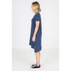 3rd Story Megan Dress - 3rd Story Tshirt Dress Tee Shirt Dress - Basic State